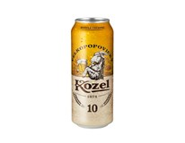 Velkopopovický Kozel světlé výčepní pivo 4x6x500ml plech