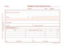 Příjmový doklad Sigma A6 50 listů NCR 10ks