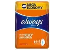 Always Ultra Mega Normal Plus dámské vložky 1x40ks