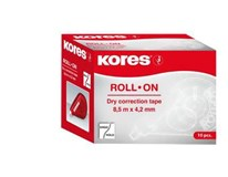 Korekční páska/bělítko Kores Roll On B2B 8,5mx4,2mm 10ks box