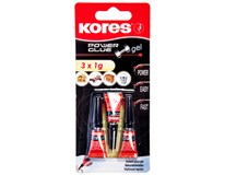Lepidlo Kores Power 3x1g 1ks