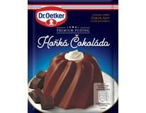 Dr.Oetker Premium puding hořká čokoláda 6x52g