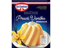 Dr.Oetker Premium puding Pravá vanilka smetanová 6x40g