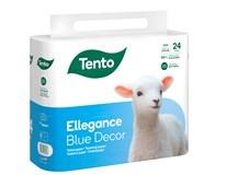 Tento Toaletní papír Blue Decor 3-vrstvý 15,6m 1x24ks