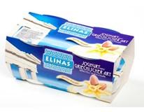 Elinas Jogurt řecký vanilkový s mandlemi chlaz. 4x150g