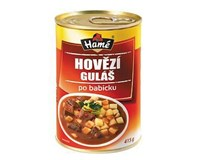 Hamé Hovězí guláš po babicku hotové jídlo 4x415g