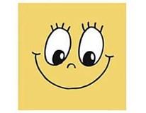 Ubrousky Smiley 33x33cm 3-vrstvé 20ks