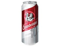 Gambrinus Original 10 pivo 24x500ml plech