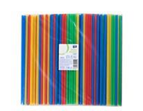 Brčka jumbo ARO mix barevná 250ks