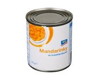 ARO Kompot mandarinkový ve sladkém nálevu 8x314ml