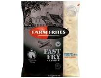 Farm Frites Fast Fry bramborové vlnky 12mm mraž. 5x2,5kg