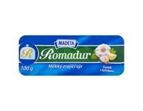 Madeta Romadur sýr s česnekem a bylinkami chlaz. 10x100g