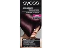 Syoss Barva na vlasy 3-3 tmavě fialová 1x1ks