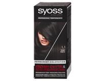 Syoss Barva na vlasy 1-1 černá 1x1ks