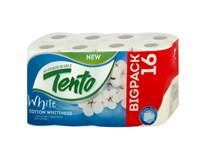 Tento White Cotton Whiteness Toaletní papír 2-vrstvý 1x16ks