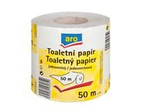 ARO Toaletní papír recyklovaný 1-vrstvý 50m 1x32ks
