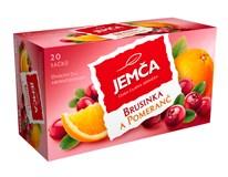 Jemča Čaj brusinka/pomeranč 6x40g