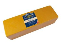 Mild coloured cheddar sýr chlaz. váž. 1x cca 2,5kg