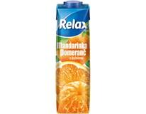 Relax select mandarinka+pomeranč 12x1L