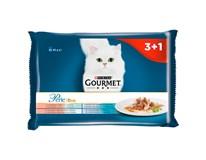 Purina Gourmet Perle kapsička rybí duo pro kočky 4x85g