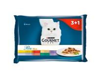 Purina Gourmet Perle kapsička masové duo pro kočky 4x85g