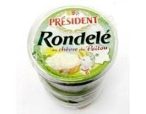 Président Rondelé kozí sýr chlaz. 3x100g