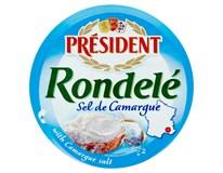 Président Rondelé sel de Camargue Sýr přírodní se solí chlaz. 3x100g