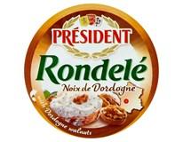 Président Rondelé Noix de Dordogne Sýr s vlašskými ořechy chlaz. 3x100g