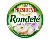 Président Rondelé ail de Garonne Sýr česnek/ bylinky chlaz. 3x100g
