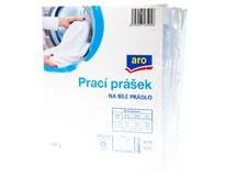 ARO Prášek na praní na bílé prádlo (4 praní) 4x400g