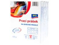 ARO Prášek na praní na barevné prádlo (4 praní) 4x400g