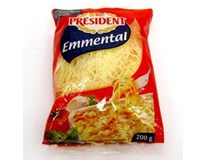 Président Emmental sýr strouhaný chlaz. 1x200g