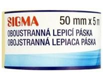 Páska oboustranná lepicí Sigma 50mm x 5m 1ks
