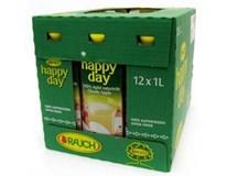 Happy Day Jablko s dužinou 100% džus 12x1L