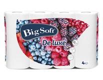Big Soft Deluxe kuchyňské utěrky 3-vrstvé 1x4ks