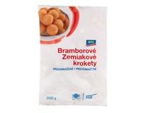 ARO Krokety bramborové kulaté předsmažené mraž. 4x2,5kg