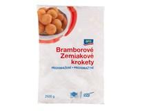 ARO Krokety bramborové kulaté předsmažené mraž. 1x2,5kg