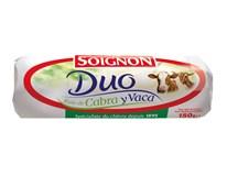Soignon Duo Sýr kozí/kravské mléko chlaz. 1x180g