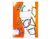 Sešit školní 464 linkovaný A4 60listů 1ks