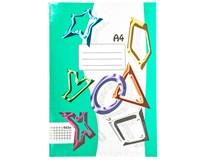 Sešit školní 465 čtverečkovaný A4 60listů 1ks