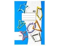 Sešit školní 540 čistý/nelinkovaný A5 40listů 1ks