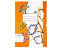Sešit školní 544 linkovaný A5 40listů 1ks