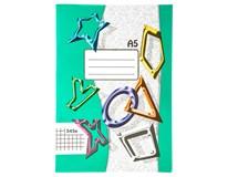 Sešit školní 545 čtverečkovaný A5 40listů 1ks