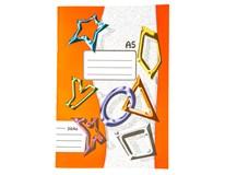 Sešit školní 564 linkovaný A5 60listů 1ks