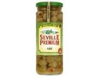 Seville Premium Olivy zelené s papričkou 1x450g