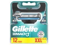 Gillette Mach3 Manual náhradní hlavice 1x12ks