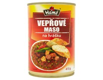 Hamé Vepřové maso na hrášku hotové jídlo 4x415g