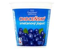 Choceňský Jogurt smetanový borůvka chlaz. 10x150g