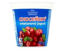 Choceňský Jogurt smetanový brusinka chlaz. 10x150g