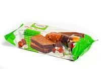 Kakaový blok s oříšky polévaný 1x300g